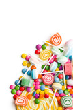 Fototapety colorful candy