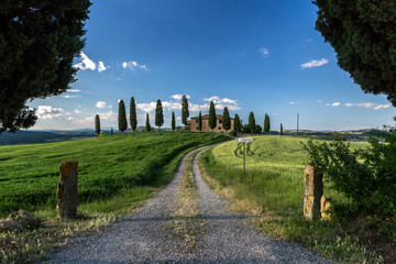 Val d'Orcia farmhouse