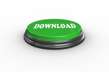 Download on digitally generated green push button