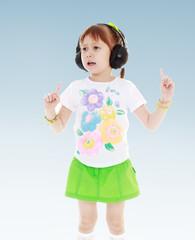 very musical girl