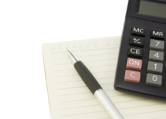 On wording with calculator to success in business
