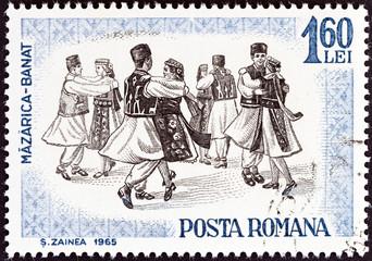 Banat folk dance (Romania 1965)