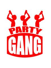 Party Gang Alcohol Drink Friends