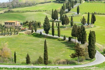 Val d'Orcia- Toscana