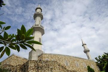 Minarets of Al Muhajirin Mosque