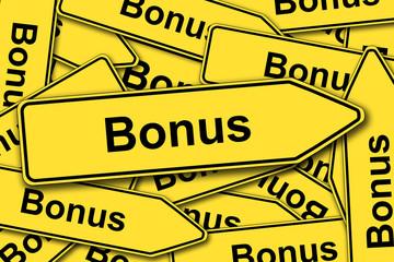 Bonus, Schilder