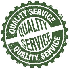 quality service stamp