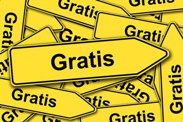 Gratis - Schilder