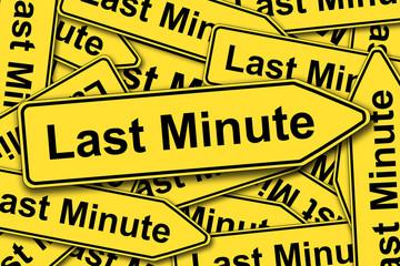 Last Minute, Schilder