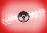 Music Speaker and Radio Dial