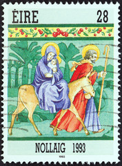 The flight into Egypt (Ireland 1993)