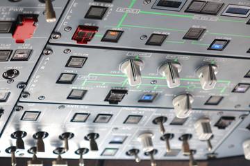 cockpit avion de ligne 322