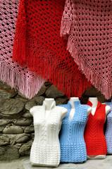 Вязаные изделия – платки и кофты Кабардино-Балкария