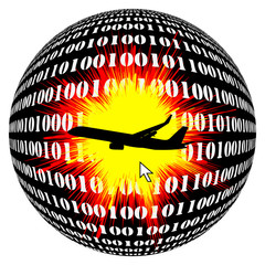 Air Crash by Hacker and Terrorists