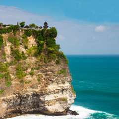View of the Uluwatu temple, Bali, Indonesia