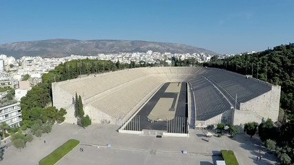 Panathenaic Stadium Aerial view
