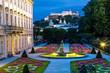 canvas print picture - Salzburg Mirabellgarten