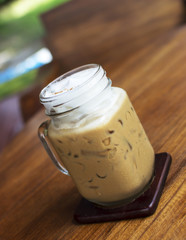 Iced Cappuccino coffee