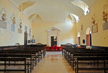 Italy, Ravenna, city council meeting room.