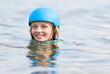 canvas print picture - Gegen den Strom schwimmen