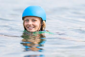 Gegen den Strom schwimmen