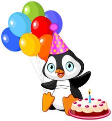 Penguin Celebrates Birthday