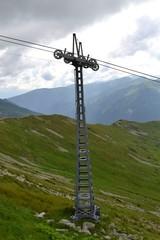 słup wyciągu narciarskiego