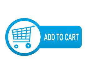 Etiqueta tipo app azul alargada ADD TO CART