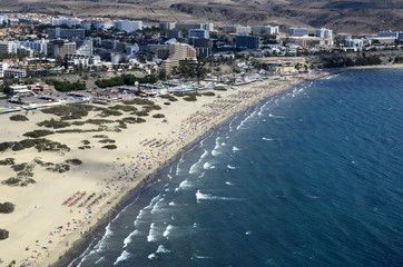 Vol en hélicoptère au-dessus de Gran Canaria
