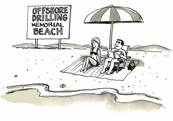 Offshore Drilling Memorial Beach