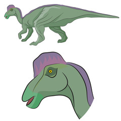 Hypacrosaurus Dinosaur