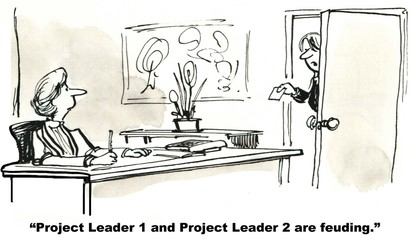 """Project Leaders are feuding."""