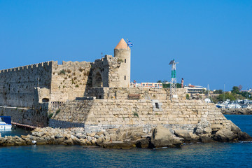 Fortress on the island Rhodes