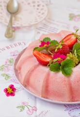 frozen strawberry jelly