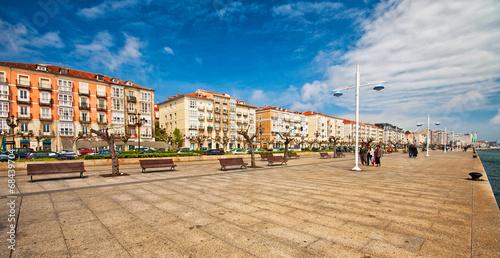 Harbour of Santander, Spain