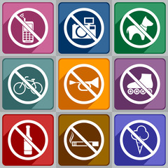 Icons prohibition