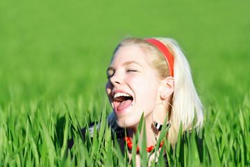 Spaß im Feld