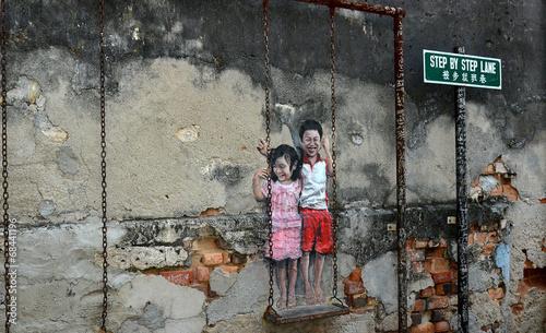 obraz lub plakat Südostasien Penang