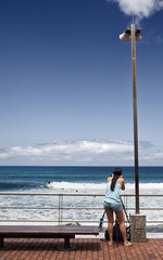 Fotógrafa de surf