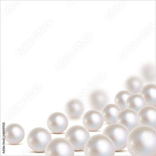 Perlen Ecke unten rechts - 68441928