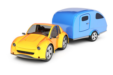 Car with camper