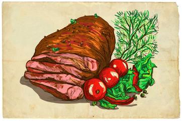 From the series food: Steak (Beef Steak)