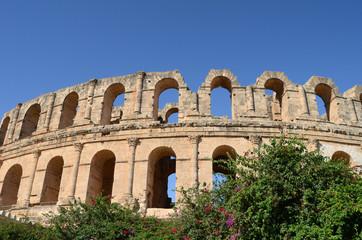 Amphitheater in El Jem, Tunisia