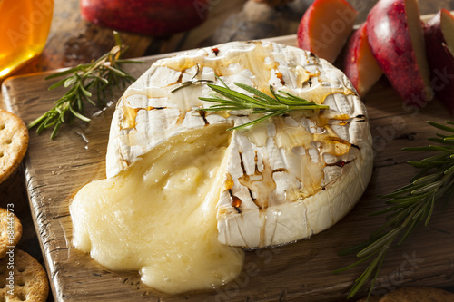 Homemade Baked Brie with Honey - 68444573