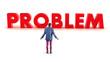 Problem before a boy