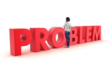 Problem before a girl