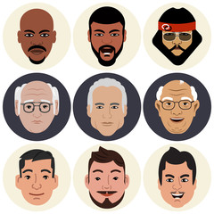 Avatars - Male Faces