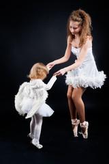 Two pretty ballerina's
