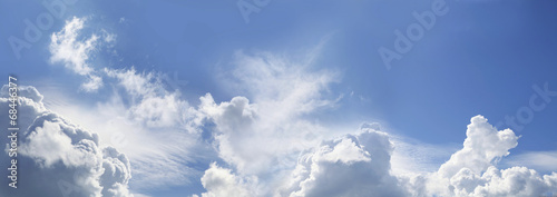 Awesome Blue Sky Panorama