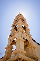 Historic bell tower, Samos, Greece